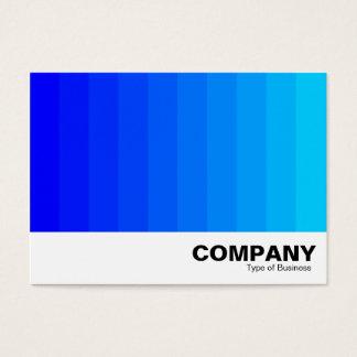 Cartão De Visitas Transição da cor - máscaras do azul