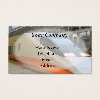 Cartão De Visitas Trem de bala de alta velocidade de Shinkansen