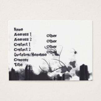 Cartão De Visitas Trovão - carnudo