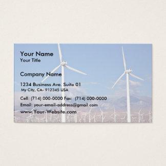 Cartão De Visitas Turbinas eólicas