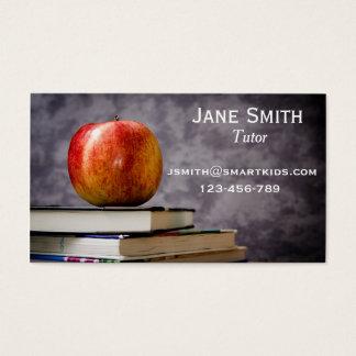 Cartão De Visitas Tutor ou professor Freelance para algum assunto
