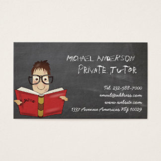 Cartão De Visitas Tutor privado e ensino