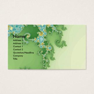 Cartão De Visitas Twirligig - Fractal