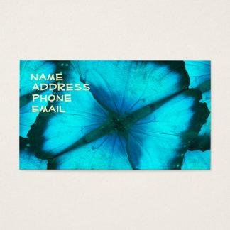 Cartão De Visitas ultrabluebutterfly, nome, endereço, telefone,