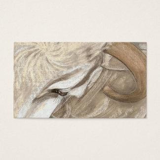 Cartão De Visitas Uma beleza dos touros do Brama