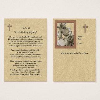 Cartão De Visitas uma oração memorável de 100 x carda o senhor Ser
