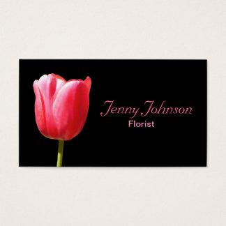 Cartão De Visitas Única haste elegante feita sob encomenda da tulipa
