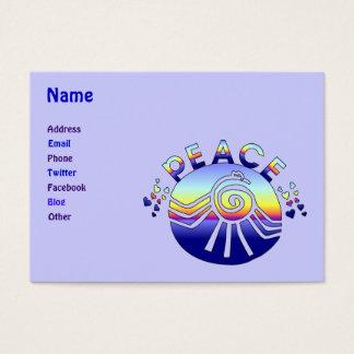 Cartão De Visitas Universo da paz