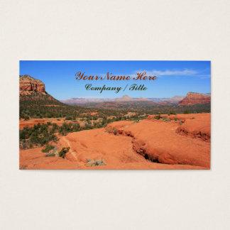 Cartão De Visitas Vale de Sedona