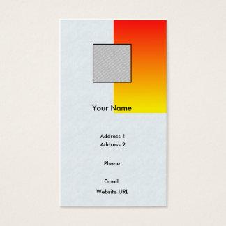 Cartão De Visitas Vermelho/Negócio