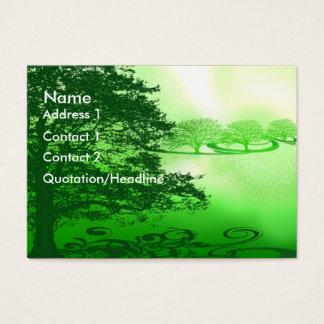 Cartão De Visitas Vida verde