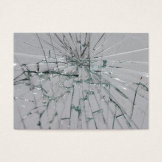 Cartão De Visitas Vidro-Olhar quebrado