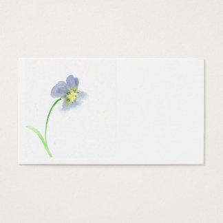 Cartão De Visitas violeta