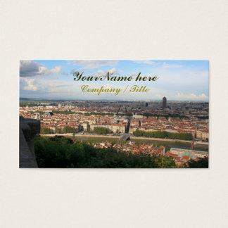 Cartão De Visitas Vista de Lyon