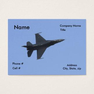 Cartão De Visitas Vista F16 lateral