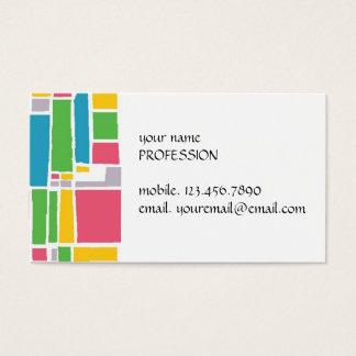 Cartão De Visitas Vitral urbano