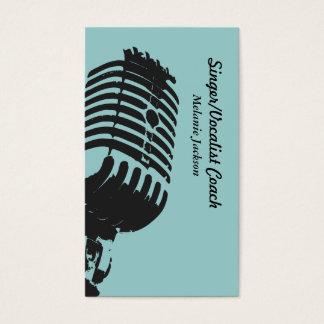 Cartão De Visitas Vocalista