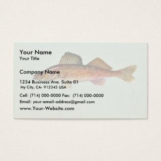 Cartão De Visitas Walleye