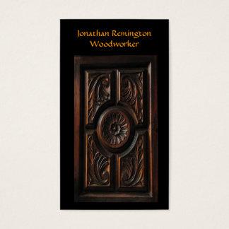 Cartão De Visitas Woodworker