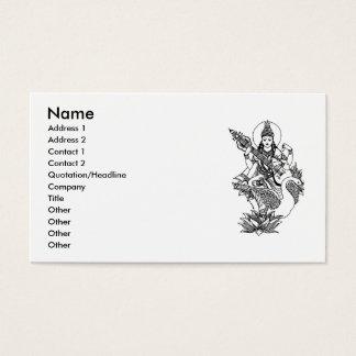 Cartão De Visitas yoga300-25g2, nome, endereço 1, endereço 2, Conta…