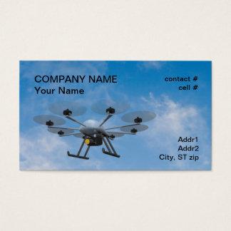 Cartão De Visitas zangão de fiscalização do multirotor