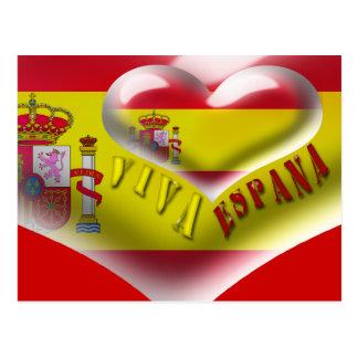 Cartão de Viva Espana da espanha Cartão Postal