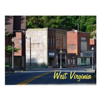Cartão de West Virginia