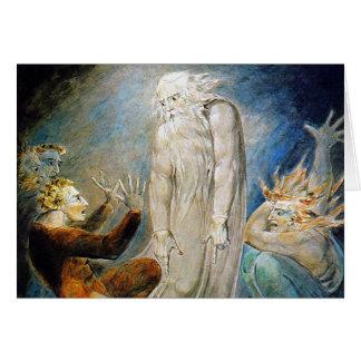 Cartão de William Blake: O sonho misterioso de
