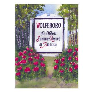 Cartão de Wolfeboro NH