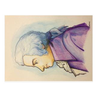 Cartão de Wolfgang A. Mozart