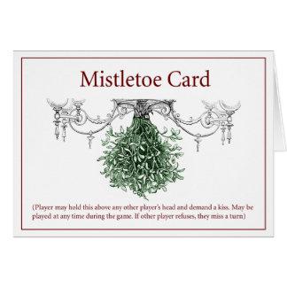 Cartão de Yuletide do visco