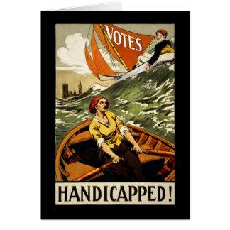 Cartão Deficiente sem o voto