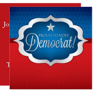 Cartão Democrata