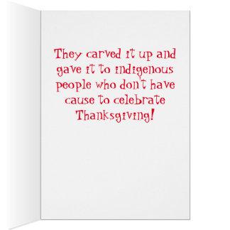Cartão Democratas tomaram seu peru da acção de graças!