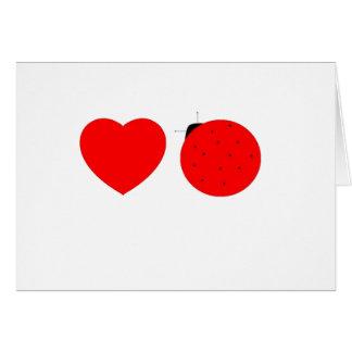 Cartão dentro de: feliz dia dos namorados, lovebug!