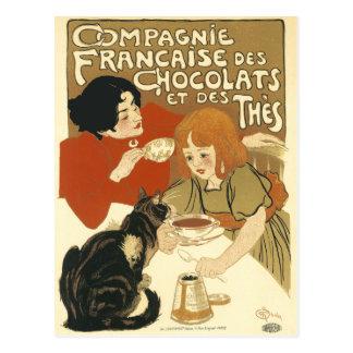 Cartão: DES Chocolats de Compagnie Francaise Cartão Postal