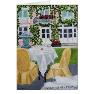 Cartão DES Marechaux da mesa do La: Fontainebleau, France