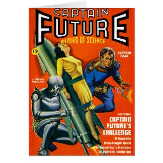 Cartão Desafio do capitão Futuro!
