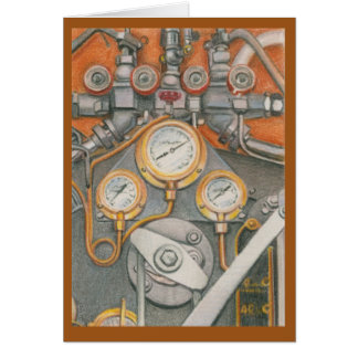 Cartão Desafio mecânico por Melissa um Benson