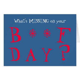Cartão Desaparecidos engraçados você aniversário