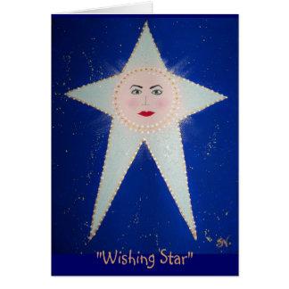 """Cartão """"Desejando a estrela"""" - #1 Aida; RhubarbStreet"""