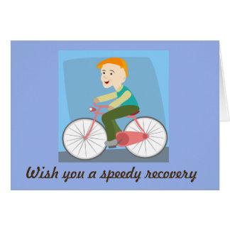 Cartão Deseje-lhe uma recuperação rápida