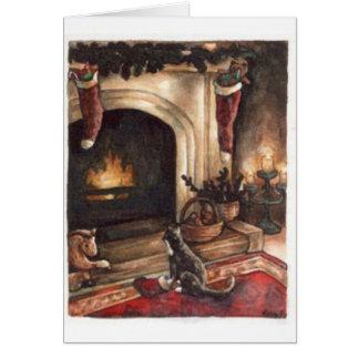 Cartão Desejo do Natal