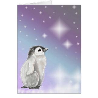 Cartão Desejo em cima de uma estrela…