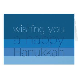 Cartão Desejos de Hanukkah