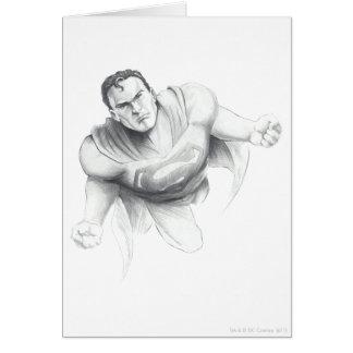 Cartão Desenho do superman