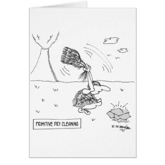 Cartão Desenhos animados 2892 da tinturaria