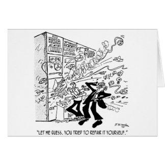 Cartão Desenhos animados 4637 do computador