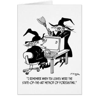 Cartão Desenhos animados 4864 da bruxa