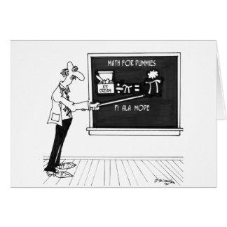 Cartão Desenhos animados 5850 da matemática